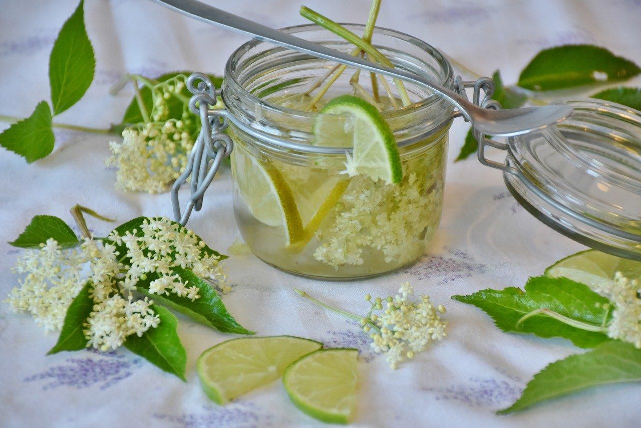 Vlierbloesem Limonade Siroop